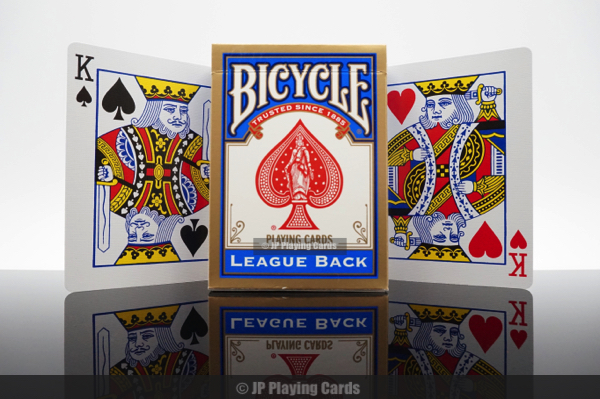 Bicycle League Back Playing Cards | POKER CARDS | JP GAMES LTD