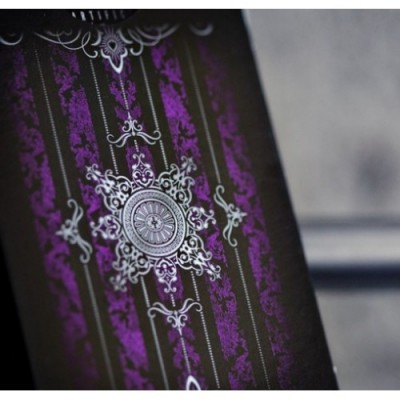 Purple Artifice Playing Cards