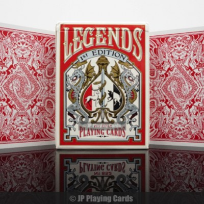 First Edition Legends Playing Cards