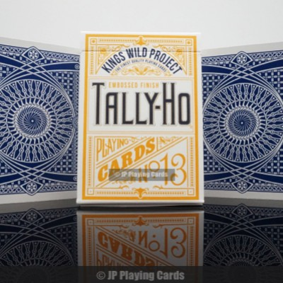 Kings Wild Tally Ho Playing Cards
