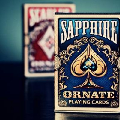 Ornate First Edition Playing Cards