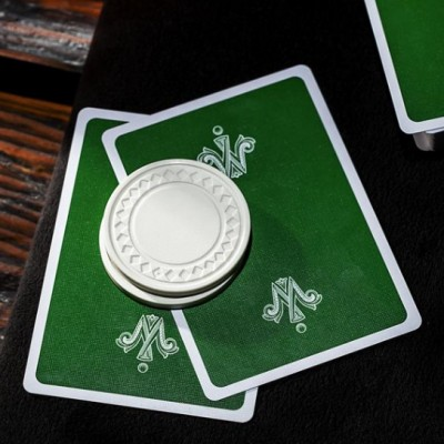 Whispering Imps®: Green Gamesters Playing Cards