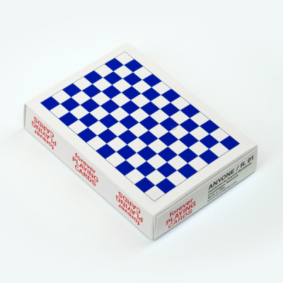 Checkerboard Playing Cards: Forever Blue
