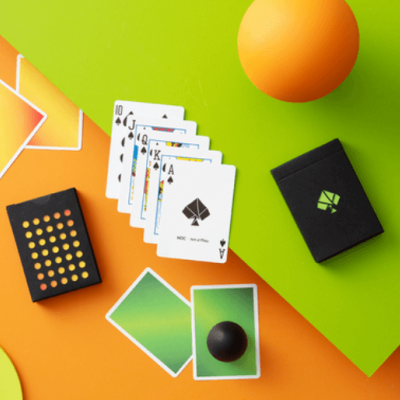 NOC Colourgrades Playing Cards