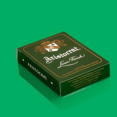 Aristocrat Playing Cards: Green Edition