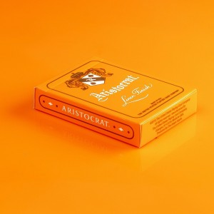 Aristocrat Playing Cards: Orange Edition
