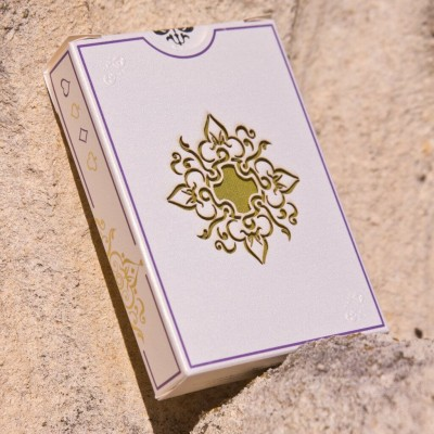 Aurum Playing Cards: White Gold