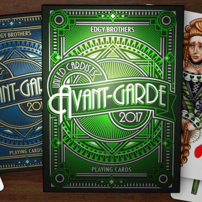 Avant-Grade Playing Cards Twin Set