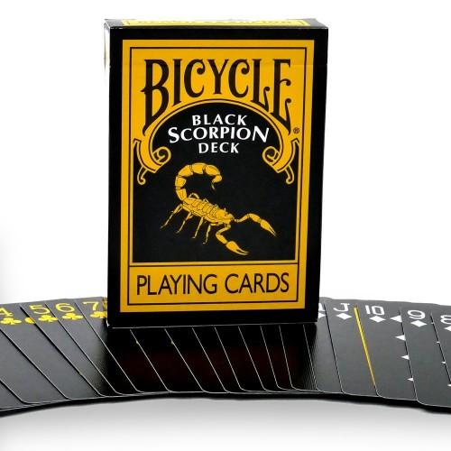 Bicycle Black Scorpion Playing Cards
