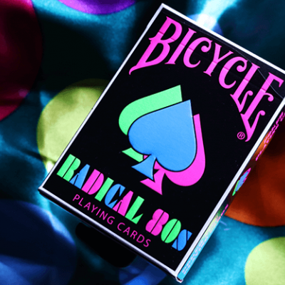 Bicycle Radical 80's Playing Cards