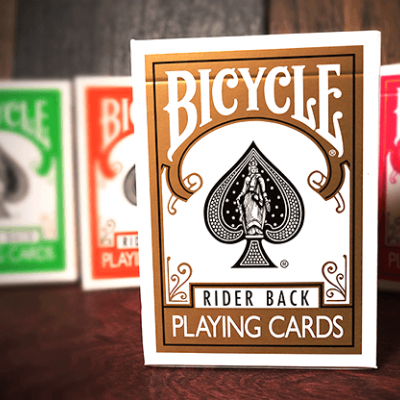 Bicycle Rider Playing Cards: Gold Edition