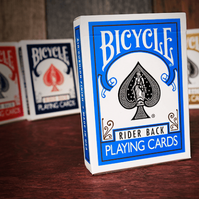 Bicycle Rider Playing Cards: Turquise Edition
