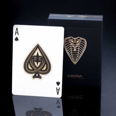 COBRA™ Playing Cards: Limited Edition Black