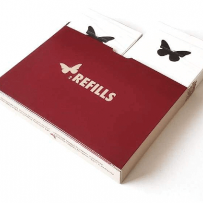 Butterfly Playing Cards: 2 Refills