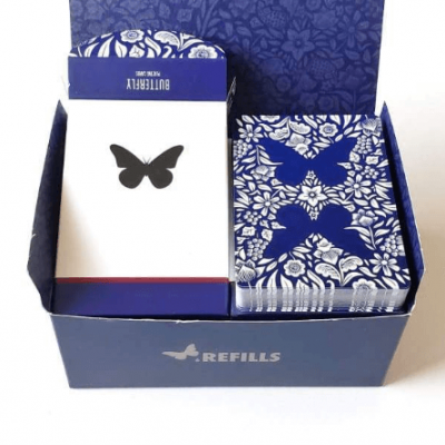 Butterfly Playing Cards: 6 Refills
