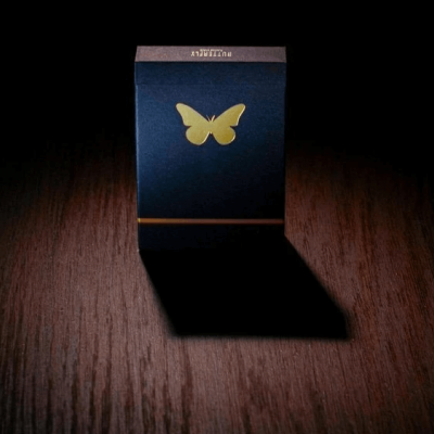 Black Butterfly Playing Cards