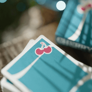 Cherry Casino: Tropicana Teal Playing Cards