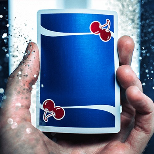 Cherry Playing Cards: Tahoe Blue