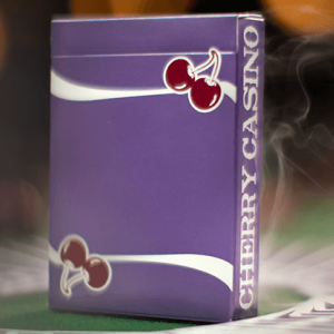 Cherry Casino: Purple Playing Cards