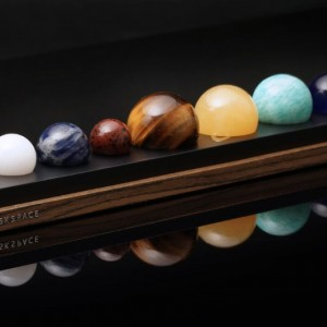 DeskSpace: Handcrafted Solar System Desk Accessory