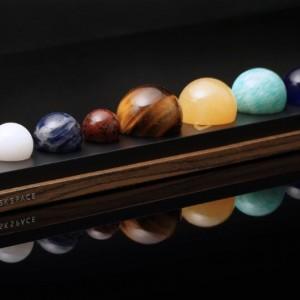 DeskSpace: Handcrafted Solar System Set