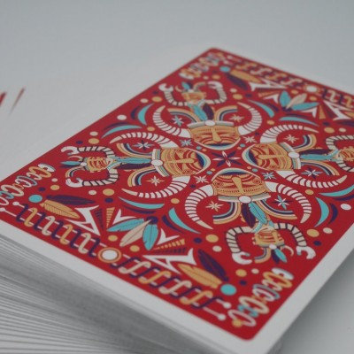 DIGITAL PETROGLYPHS Playing Cards