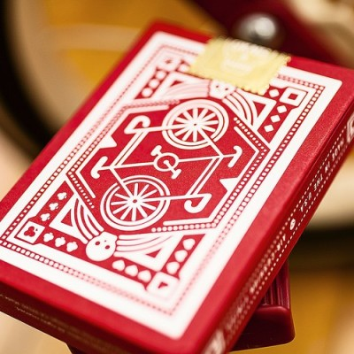 DKNG Red Wheel Playing Cards