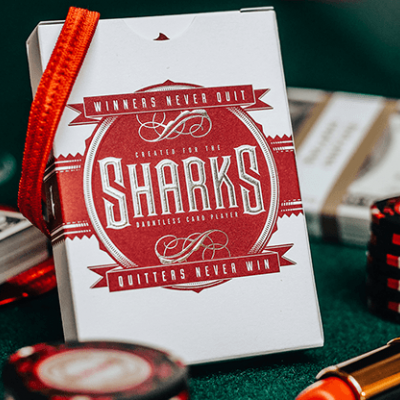 DMC Sharks V2 Playing Cards