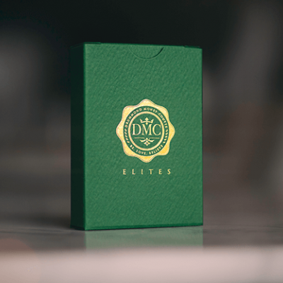 DMC Elites Playing Cards: Forest Green Edition