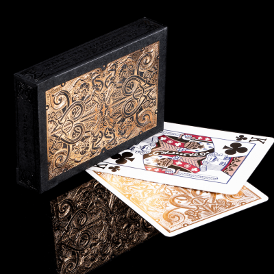 Rose Gold Gatorbacks Playing Cards