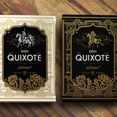 Don Quixote Playing Cards Twin Set
