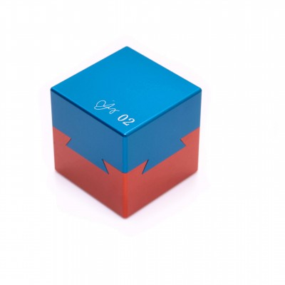 Dovetail Cube Puzzle 02