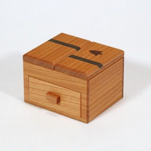 Drawer With A Tree Puzzle Box