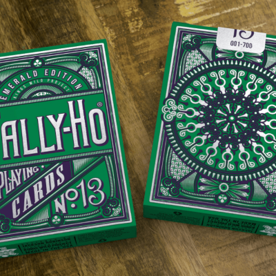 Emerald Tally Ho Playing Cards