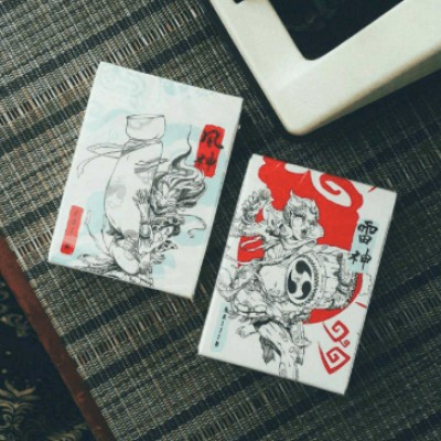 Fujin & Raijin Playing Card Twin Set