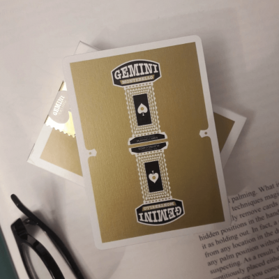 Gemini Casino Playing Cards: Gold