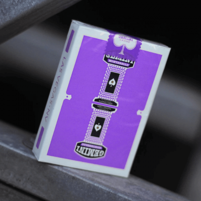 Gemini Casino Playing Cards: Purple Edition