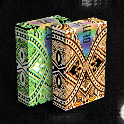 GLITCH 2.0 Playing Cards Twin Set