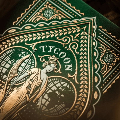 TYCOON Playing Cards: Green