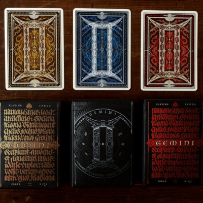 Gemini Playing Cards