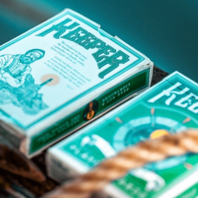 Keepers Playing Cards: Green Edition