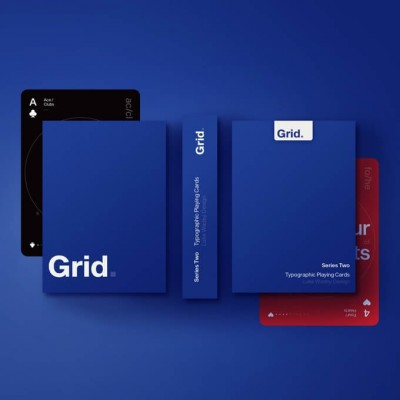 Grid Series Two Playing Cards