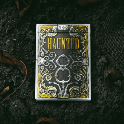 Haunted 8s Playing Cards