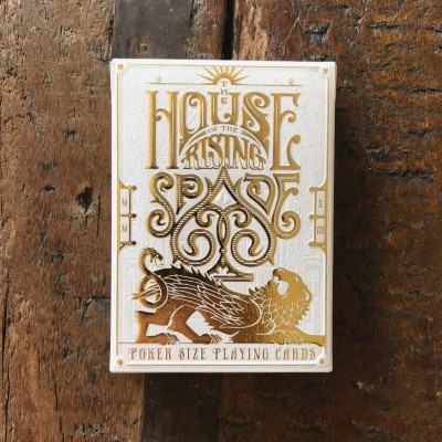 House of the Rising Spade Playing Cards
