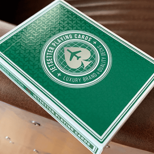Jetsetter Playing Cards: Premier Green