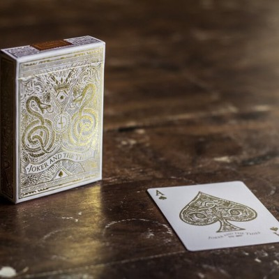 Joker and the Thief: White Gold Edition Playing Cards (REPRINTS)