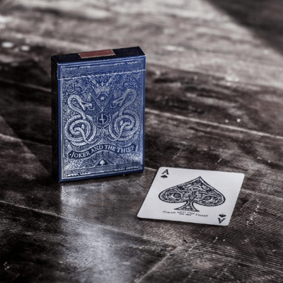 Joker and the Thief: Midnight Blue Edition Playing Cards