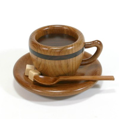 Karakuri Coffee Cup Puzzle