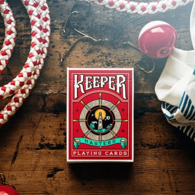 Keepers Playing Cards: Red Edition