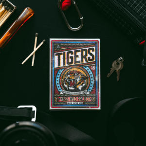 Kings Wild Tigers: Second Edition Playing Cards